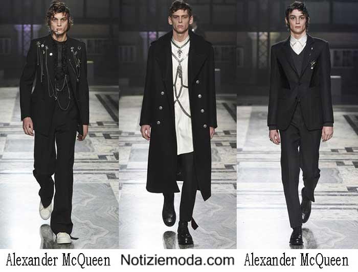 Alexander McQueen Autunno Inverno 2016 2017 Uomo