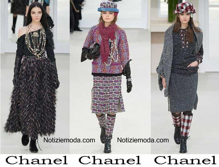 Collezione Chanel Autunno Inverno 2016 2017 Donna