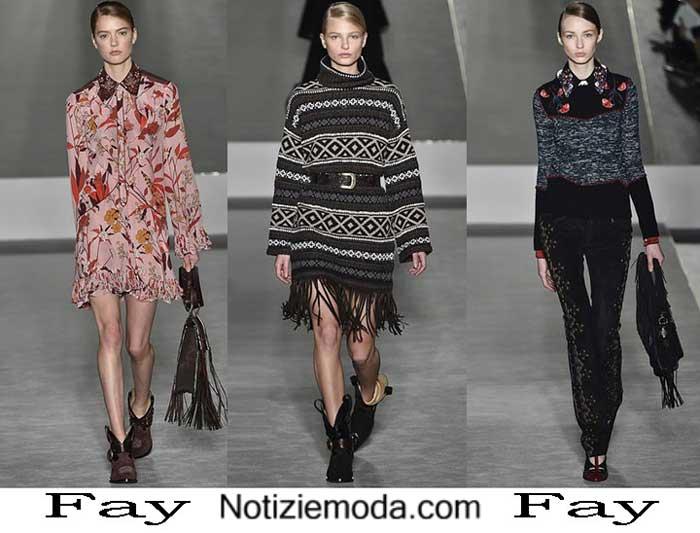 new concept d0249 15302 Collezione Fay autunno inverno 2016 2017 moda donna