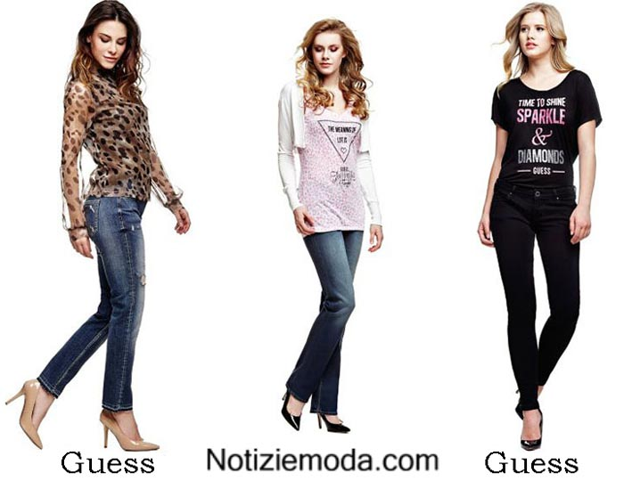 wholesale dealer 4d8a4 2c034 Collezione Guess autunno inverno 2016 2017 donna