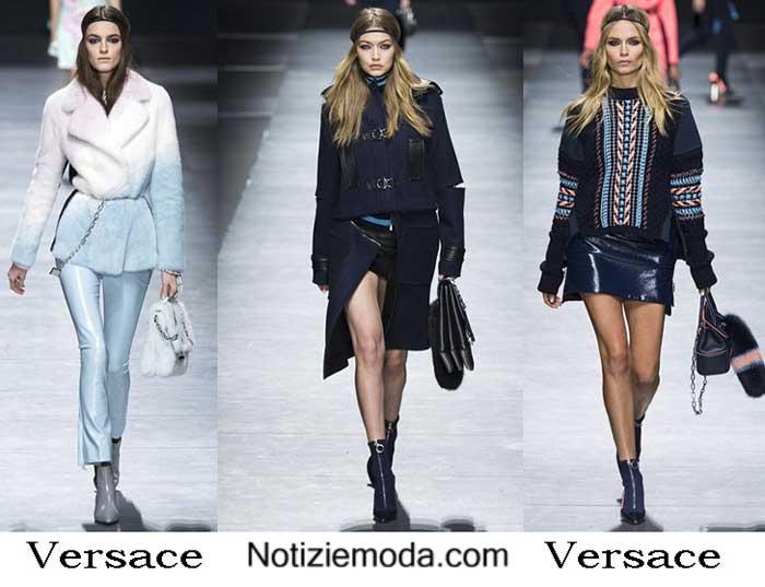 Collezione Versace Autunno Inverno 2016 2017 Donna