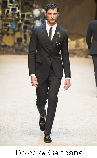 Dolce Gabbana Autunno Inverno 2016 2017 Uomo Look 1