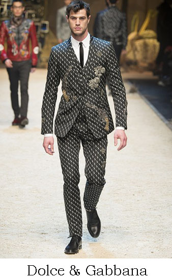 Dolce Gabbana Autunno Inverno 2016 2017 Uomo Look 52