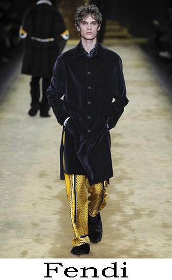 Fendi Autunno Inverno 2016 2017 Moda Uomo Look 1