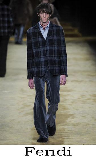 Fendi Autunno Inverno 2016 2017 Moda Uomo Look 11