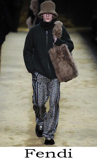 Fendi Autunno Inverno 2016 2017 Moda Uomo Look 12