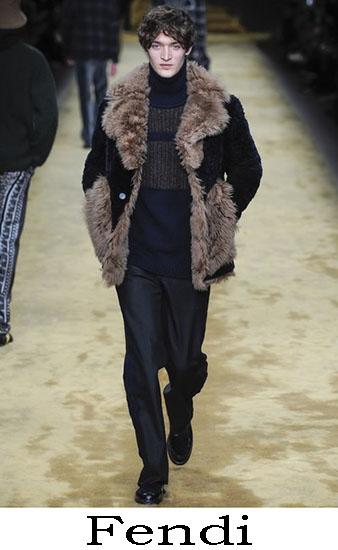Fendi Autunno Inverno 2016 2017 Moda Uomo Look 13