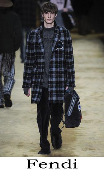 Fendi Autunno Inverno 2016 2017 Moda Uomo Look 14