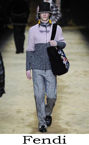 Fendi Autunno Inverno 2016 2017 Moda Uomo Look 15