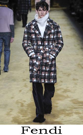 Fendi Autunno Inverno 2016 2017 Moda Uomo Look 16