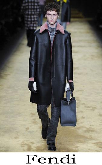 Fendi Autunno Inverno 2016 2017 Moda Uomo Look 18