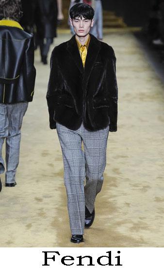 Fendi Autunno Inverno 2016 2017 Moda Uomo Look 20