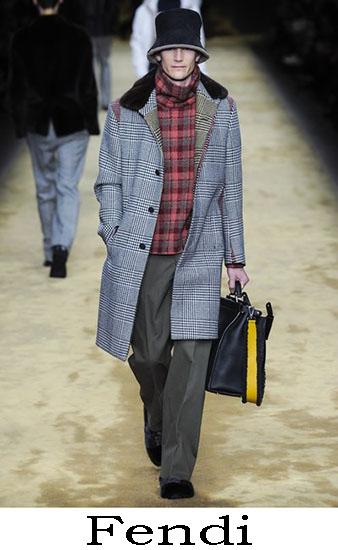 Fendi Autunno Inverno 2016 2017 Moda Uomo Look 21