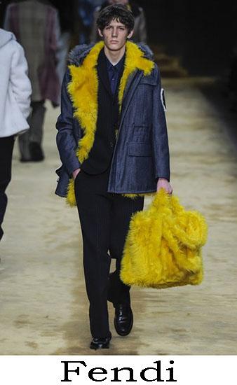 Fendi Autunno Inverno 2016 2017 Moda Uomo Look 24