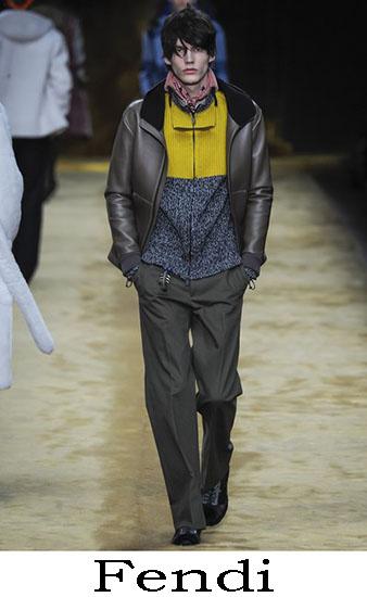 Fendi Autunno Inverno 2016 2017 Moda Uomo Look 25