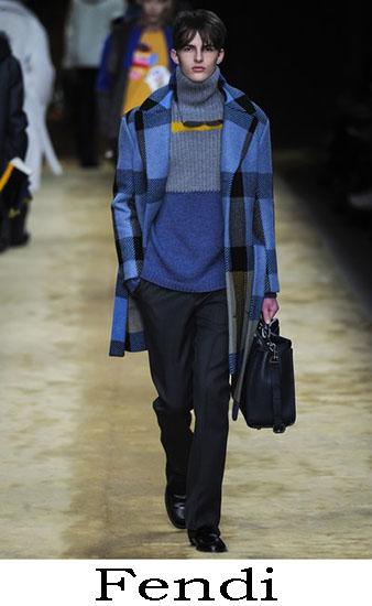 Fendi Autunno Inverno 2016 2017 Moda Uomo Look 26