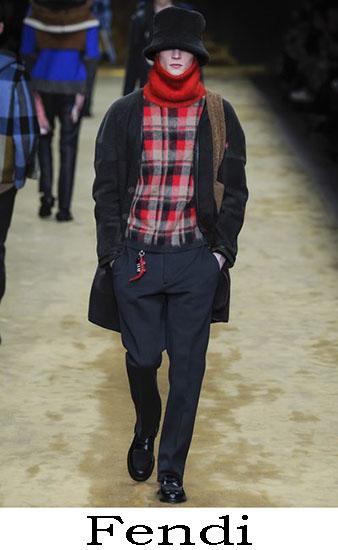 Fendi Autunno Inverno 2016 2017 Moda Uomo Look 29