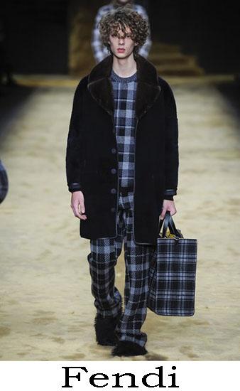 Fendi Autunno Inverno 2016 2017 Moda Uomo Look 3