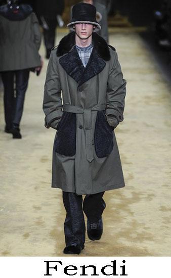 Fendi Autunno Inverno 2016 2017 Moda Uomo Look 33
