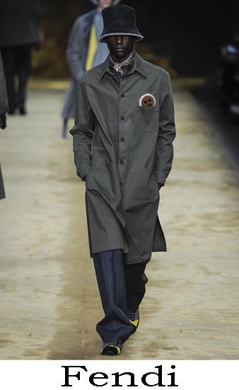 Fendi Autunno Inverno 2016 2017 Moda Uomo Look 35