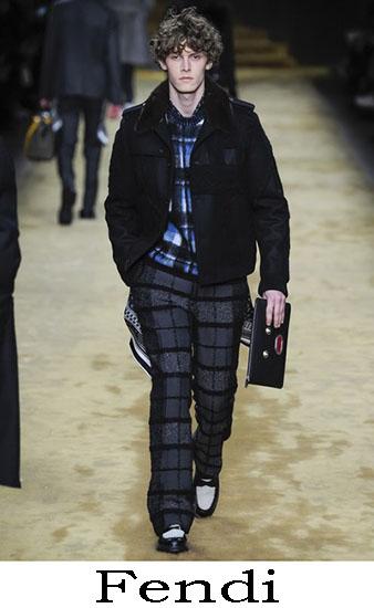 Fendi Autunno Inverno 2016 2017 Moda Uomo Look 39
