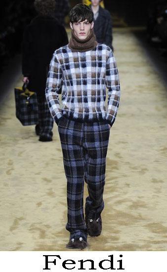 Fendi Autunno Inverno 2016 2017 Moda Uomo Look 4
