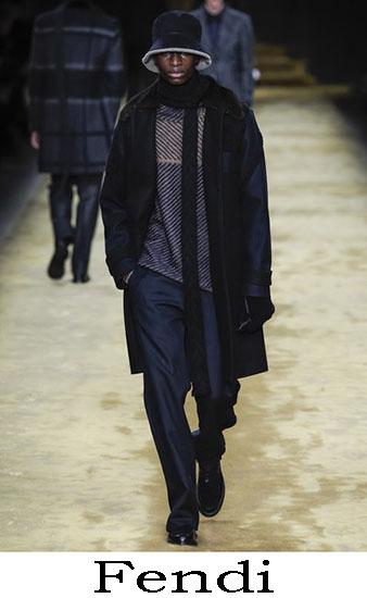 Fendi Autunno Inverno 2016 2017 Moda Uomo Look 43