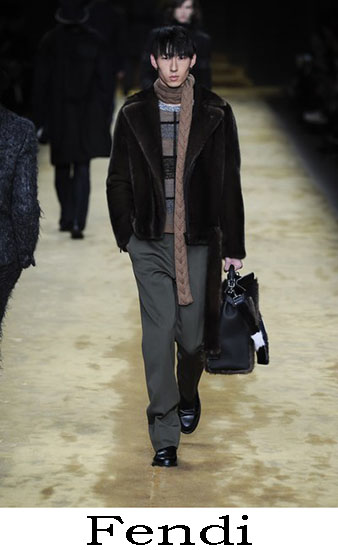 Fendi Autunno Inverno 2016 2017 Moda Uomo Look 45