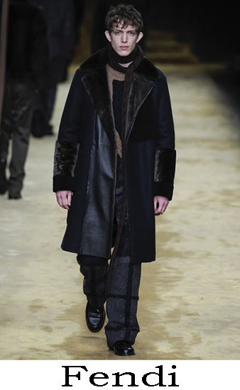 Fendi Autunno Inverno 2016 2017 Moda Uomo Look 47