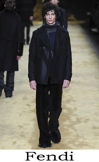 Fendi Autunno Inverno 2016 2017 Moda Uomo Look 48