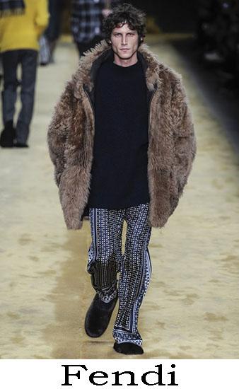 Fendi Autunno Inverno 2016 2017 Moda Uomo Look 8