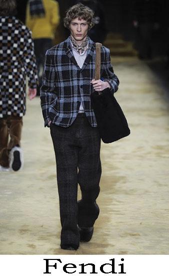 Fendi Autunno Inverno 2016 2017 Moda Uomo Look 9
