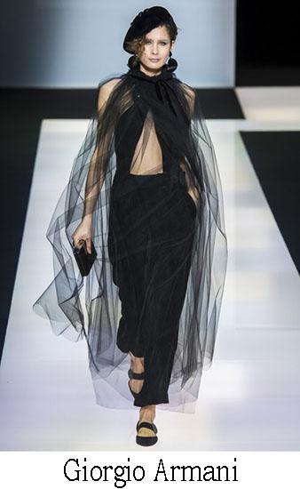 Giorgio Armani Autunno Inverno 2016 2017 Donna Look 1