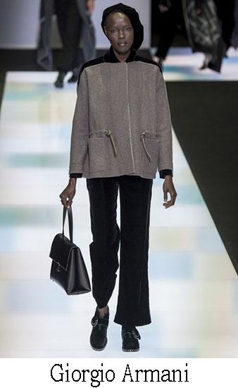 Giorgio Armani Autunno Inverno 2016 2017 Donna Look 19