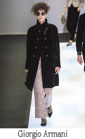 Giorgio Armani Autunno Inverno 2016 2017 Donna Look 2