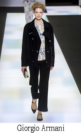 Giorgio Armani Autunno Inverno 2016 2017 Donna Look 20