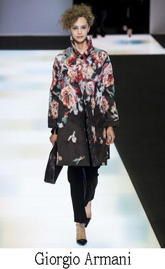 Giorgio Armani Autunno Inverno 2016 2017 Donna Look 28