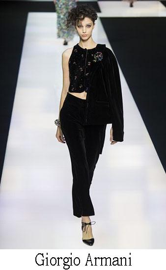 Giorgio Armani Autunno Inverno 2016 2017 Donna Look 43