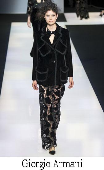 Giorgio Armani Autunno Inverno 2016 2017 Donna Look 50