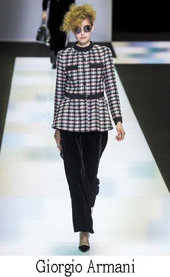 Giorgio Armani Autunno Inverno 2016 2017 Donna Look 8