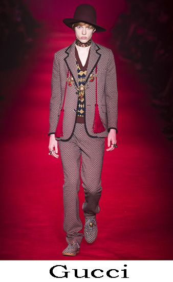 Gucci Autunno Inverno 2016 2017 Moda Uomo Look 1
