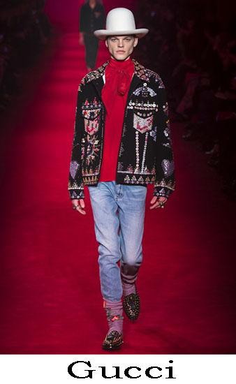 Gucci Autunno Inverno 2016 2017 Moda Uomo Look 12