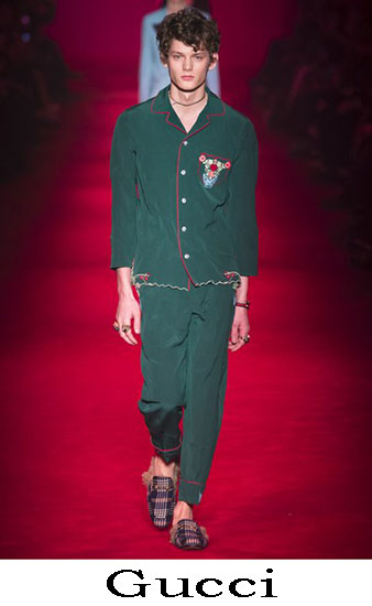 Gucci Autunno Inverno 2016 2017 Moda Uomo Look 14