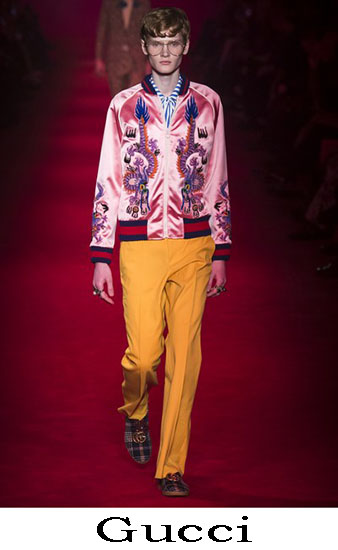Gucci Autunno Inverno 2016 2017 Moda Uomo Look 17