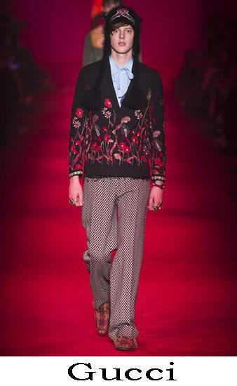 Gucci Autunno Inverno 2016 2017 Moda Uomo Look 31