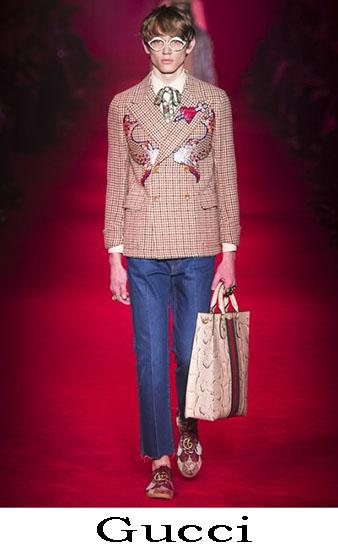 Gucci Autunno Inverno 2016 2017 Moda Uomo Look 36