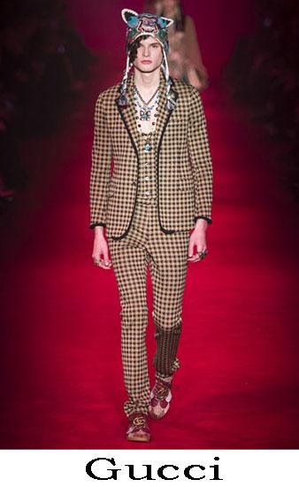 Gucci Autunno Inverno 2016 2017 Moda Uomo Look 45
