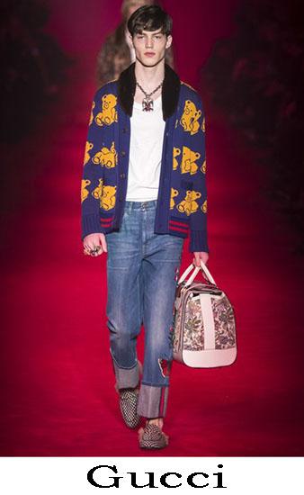 Gucci Autunno Inverno 2016 2017 Moda Uomo Look 49