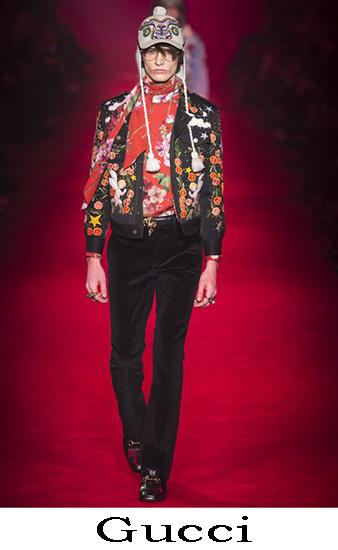 Gucci Autunno Inverno 2016 2017 Moda Uomo Look 54
