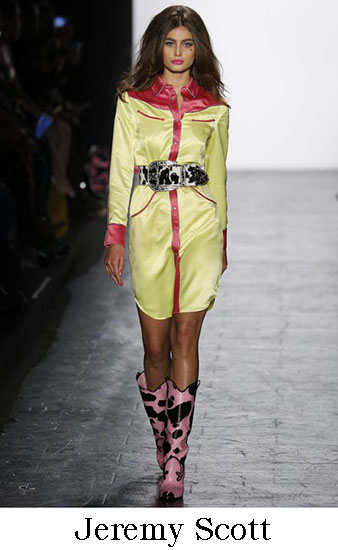 Jeremy Scott Autunno Inverno 2016 207 Donna Look 12